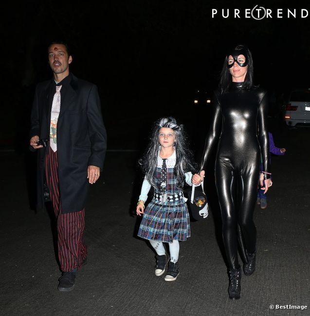 Malgr le scandale liberty ross et rupert sanders f tent halloween en famille - Halloween en famille ...