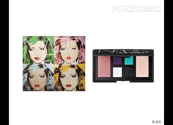 Palette Debbie Harry, Collection Pop, Andy Warhol de Nars, 55 €. En exclusivité chez Sephora.