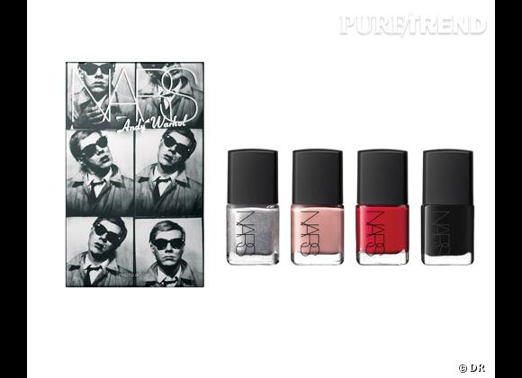 Coffret Photo Booth, Collection Silver Factory, Andy Warhol de Nars, 30 €.