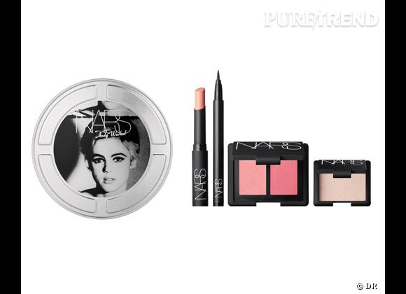 Coffret Edie, Collection Silver Factory, Andy Warhol de Nars, 72 €.