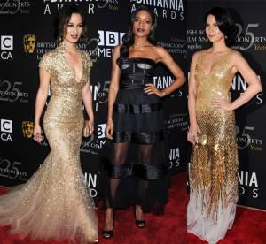 Bérénice Marlohe, Naomie Harris, Olivia Munn : trio de charme aux BAFTA