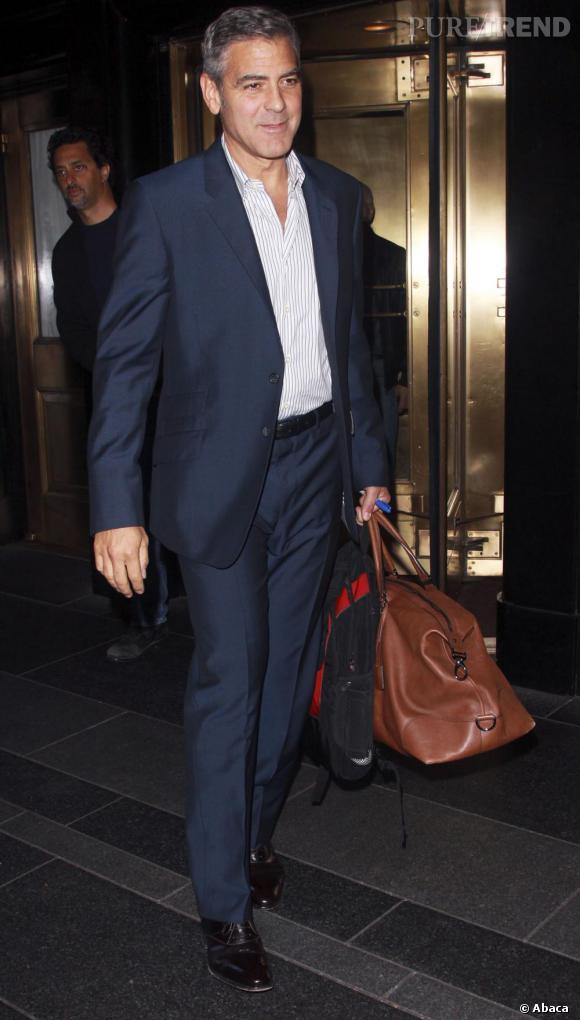 George Clooney, un voyageur plein de charme.