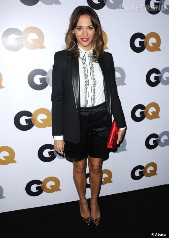 Rashida Jones, le masculin-féminin pointu aux GQ Men of the Year Awards 2012 à Los Angeles.
