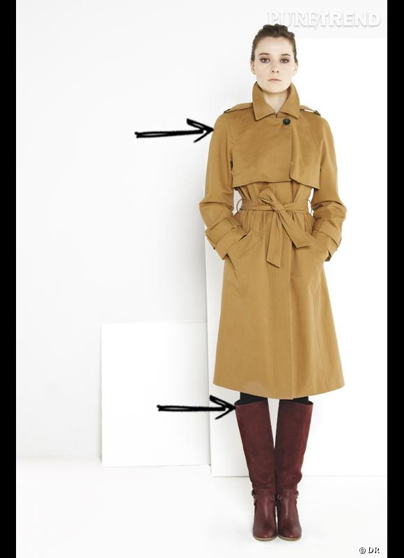 comment porter les bottes cet hiver comme chez comptoir des cotonniers on garde l 39 esprit chic. Black Bedroom Furniture Sets. Home Design Ideas
