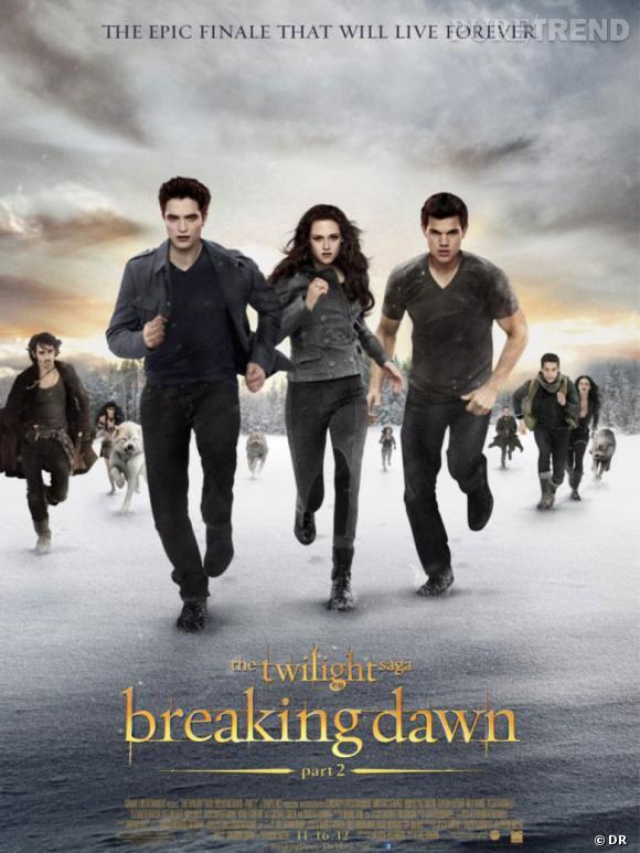 """Le chapitre final était très attendu par les fans de la saga """"Twilight"""" : la preuve avec les 552 766 spectateurs venus le voir le premier jour de sa sortie !"""