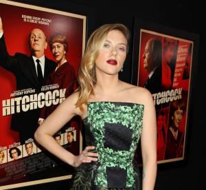 Scarlett Johansson : un canon pour la premiere de Hitchcock a New York