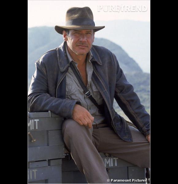 Que serait Indiana Jones (Harrison Ford) sans son chapeau d'aventurier ?