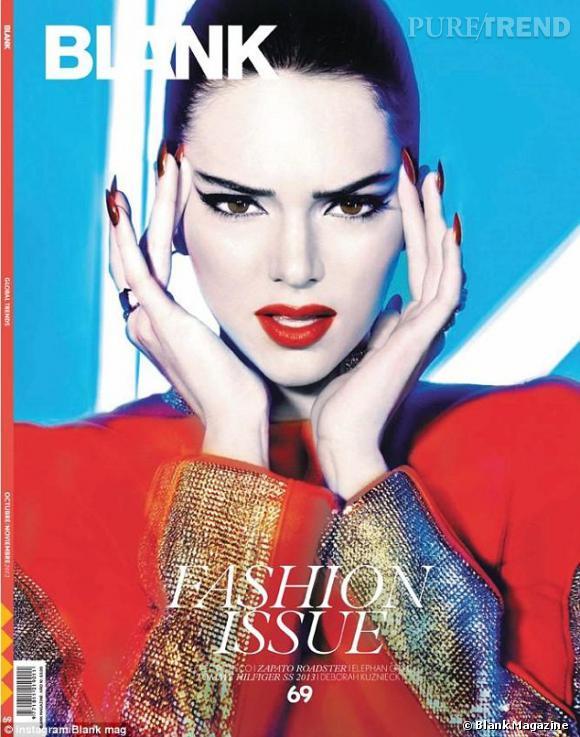 Kendall Jenner a vite évolué en tat que mannequin. En couverture de Blank Magazine, elle est superbe.