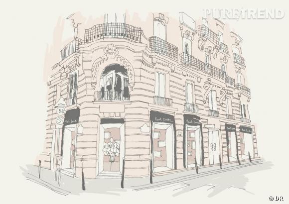 Paul Smith présente sa première boutique à Paris entièrement dédiée à la femme.