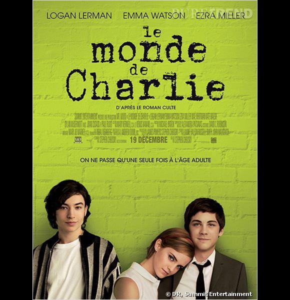 """""""Le Monde de Charlie"""", au cinéma le 2 janvier 2013."""