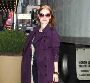 Jessica Chastain, l'ultraviolet urbain...A shopper !