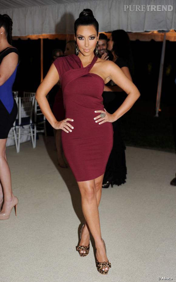 Kim Kardashian est heureuse : elle va être maman et décroche le gros lot.