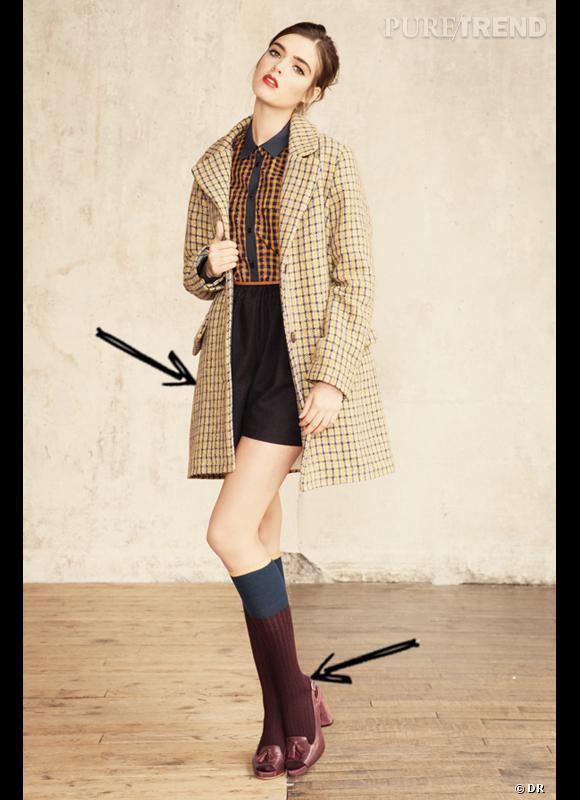 Comment porter le short cet hiver comme chez sess n on - Comment porter les chaussettes hautes ...