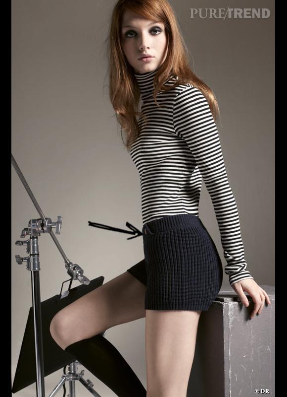 Comment porter le short cet hiver ?      Comme chez petit Bateau on ose le short en maille.      Collection Automne-Hiver 2012/2013