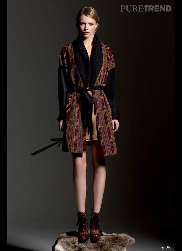 Comment porter le short cet hiver ?      Comme chez Forte Forte, on ose le short pour ses looks ethniques.      Collection Automne-Hiver 2012/2013
