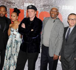Kerry Washington, Melanie Laurent, Quentin Tarantino : Django Unchained a Paris !