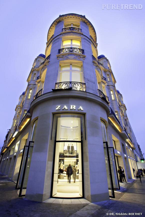 Zara, nouvelle boutique sur les Champs Elysées