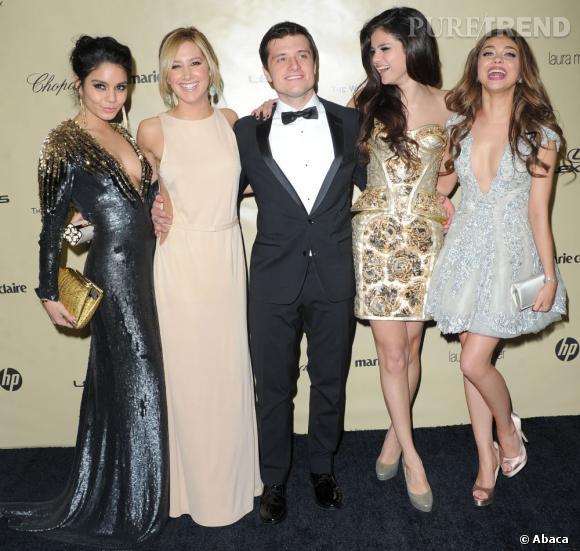 N'oublions pas non plus le rapprochement entre Selena Gomez et Josh Hutcherson...