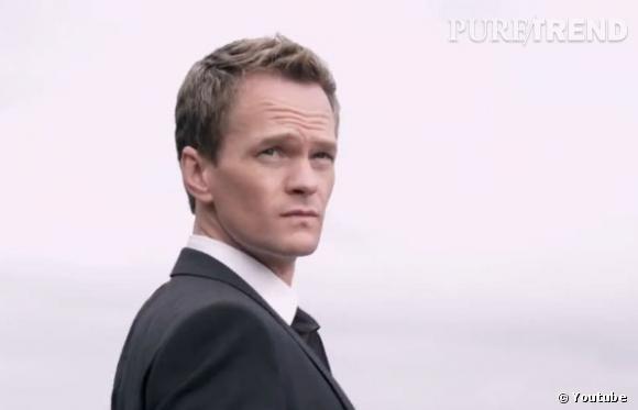 """Neil Patrick Harris, le célèbre Barney de """"How I Met Your Mother"""", se met en scène dans les dernières pubs Axe."""