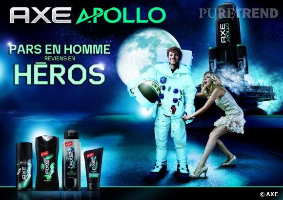 La gamme Axe Apollo vous promet de décoller sous la douche !