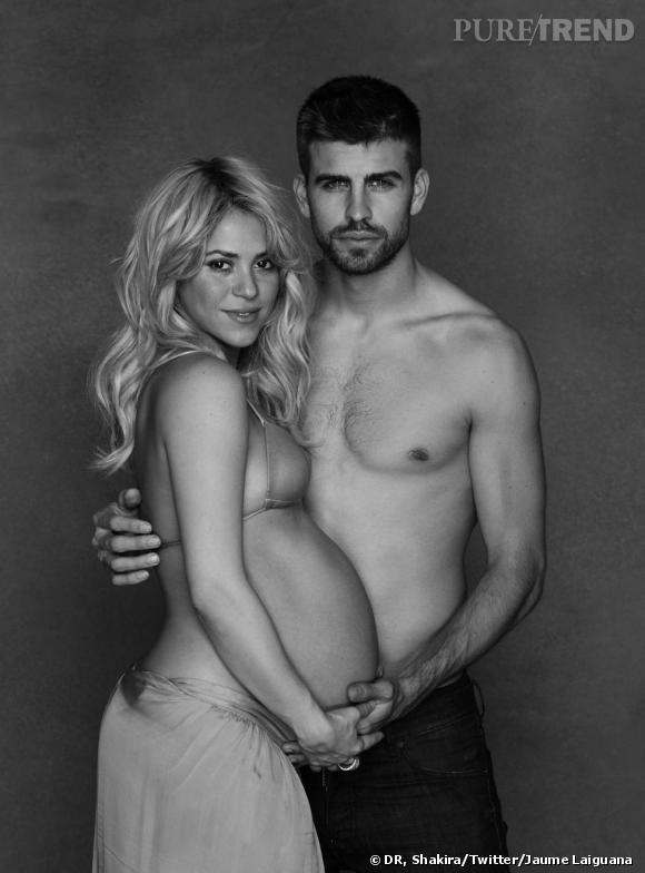 Shakira a enfin accouché ! Son petit garçon pèse 2,9 kilos et s'appelle Milan.