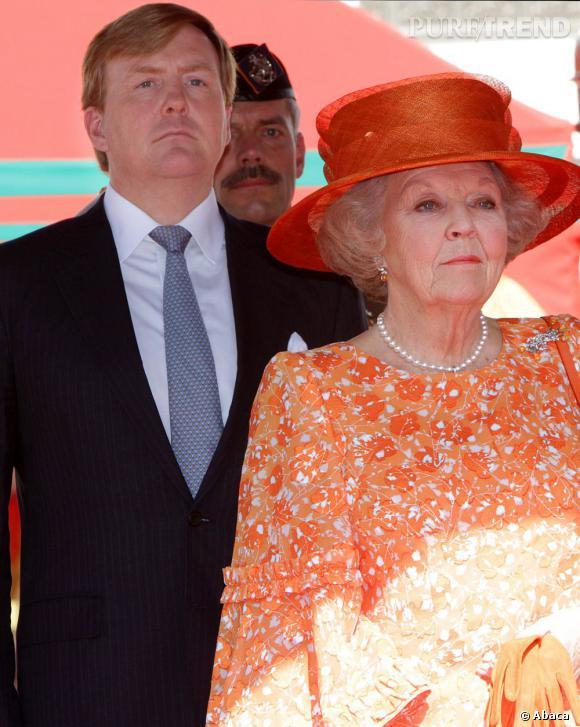 Reine Beatrix abdique au profit de son film Willem Alexander.