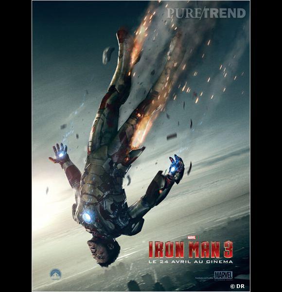 """""""Iron Man 3"""" : le trailer pendant le Super Bowl."""