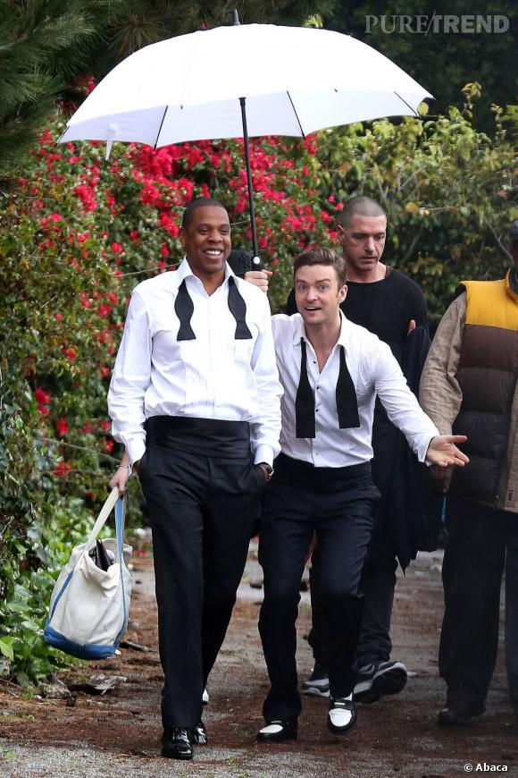Le chanteur explique qu'avec Timbaland et Jay-Z, il a été plus que productif !