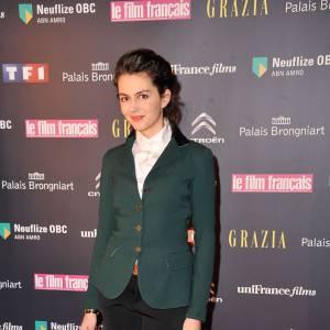 Julia Faure aux Trophées du film français 2013.