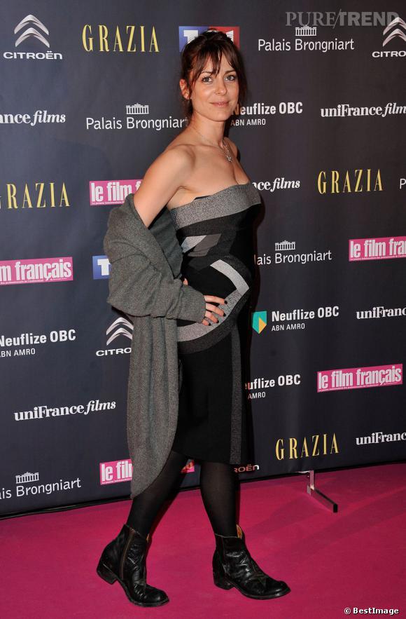 Audrey Dana aux Trophées du film français 2013.