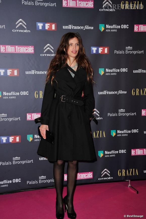 Maïwenn en Bouchra Jarrar aux Trophées du film français 2013.