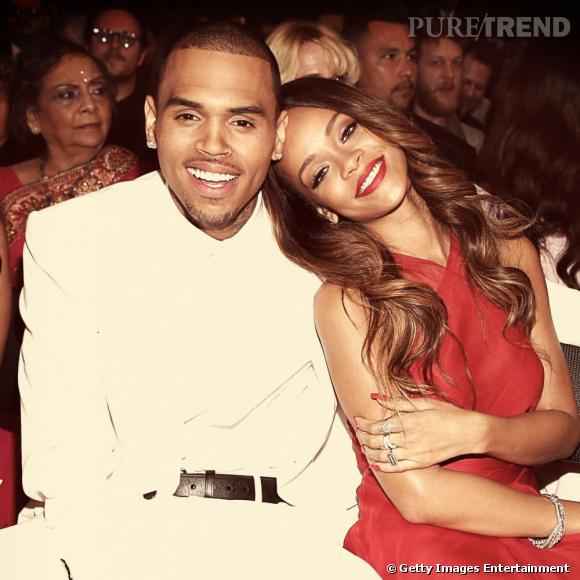 Rihanna et Chris Brown, le couple des Grammy Awards 2013.
