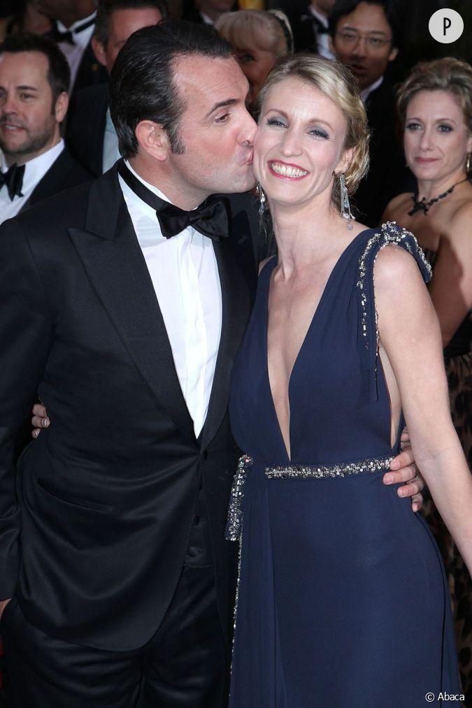 Jean dujardin et alexandra lamy le baiser chaste bis tu for Lamy dujardin
