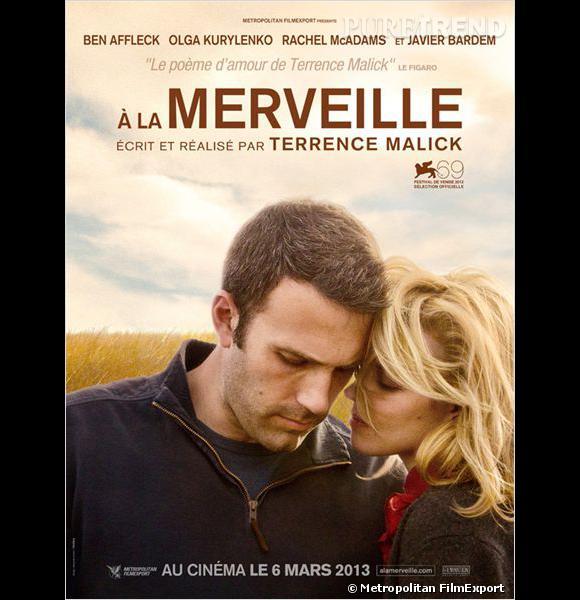 """""""A la Merveille"""" de Terrence Malick. Au cinéma le 6 mars."""