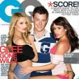 """Les acteurs de """"Glee"""" osent tout en couverture de GQ ! Une cover qui choque certains lecteurs, """"Glee"""" étant censée être une série pour jeunes adolescents."""