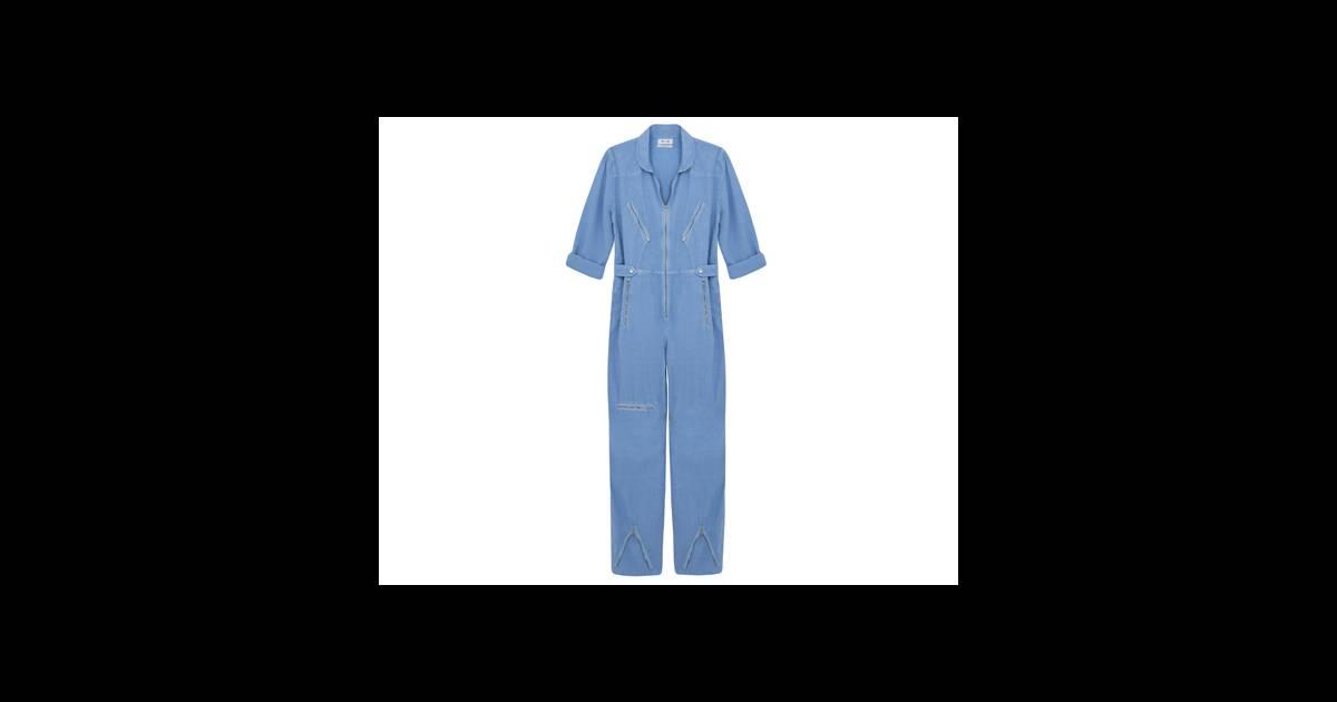 le must have de marijke combi boiler suit mih jeans 289 puretrend. Black Bedroom Furniture Sets. Home Design Ideas
