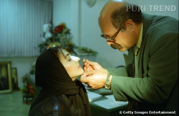 En Iran, 200 000 rhinoplasties sont réalisées chaque année, soit 7 fois plus qu'aux Etats-Unis.
