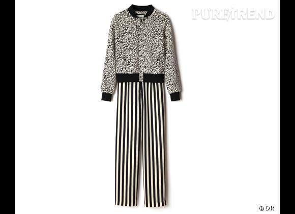 Tendance rayures : le bon shopping       Pantalon American Retro, 165 € aux Galeries Lafayette