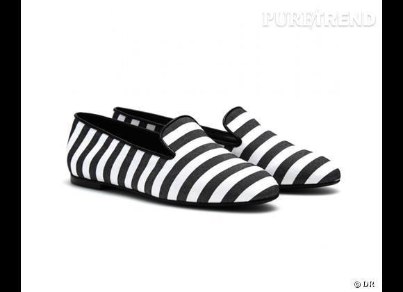 Tendance rayures : le bon shopping       Slippers Tod's, 315 € sur  Mytheresa.com