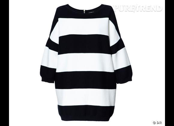 Tendance rayures : le bon shopping       Sweat maille Zara