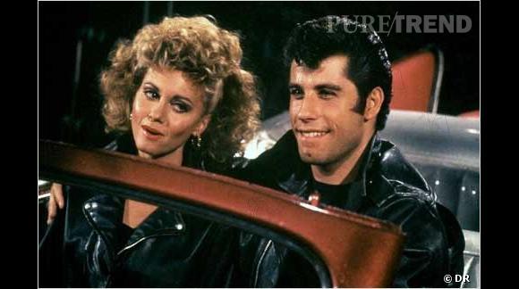 Pourtant, dans  Grease , l'actrice subit une révolution capillaire quand elle enfile un perfecto. Volume et boucles XXL sont au menu.