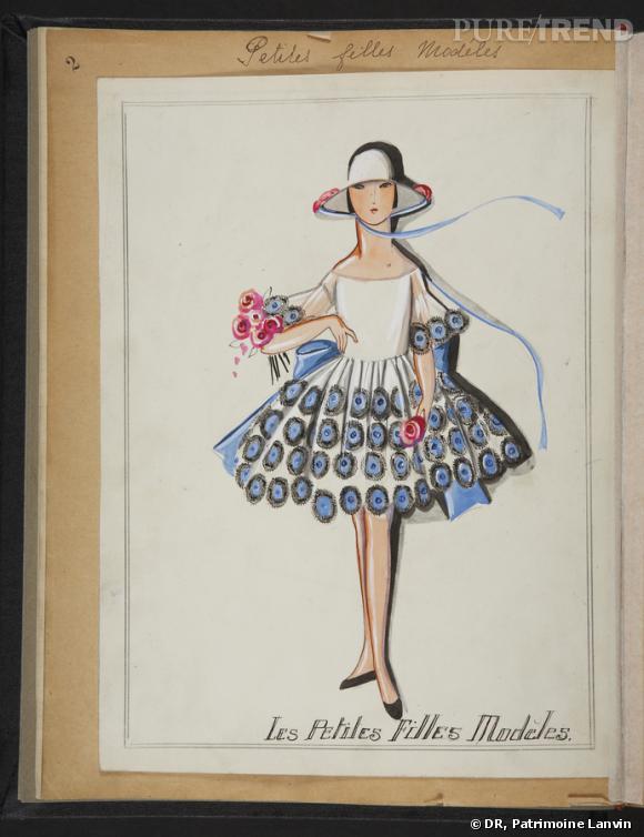 Les petites filles modèles, Exposition 1925.