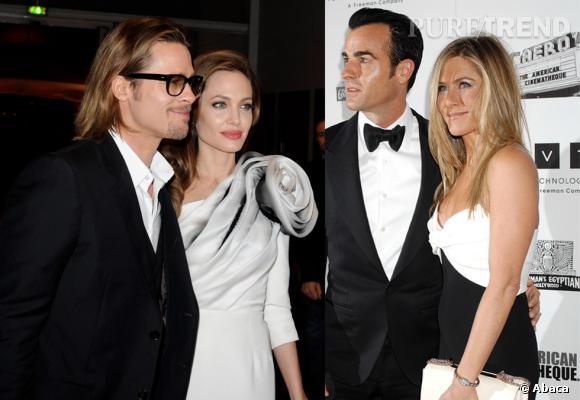 Faut-il s'attendre à un guerre des mariées entre Angelina Jolie et Jennifer Aniston ?