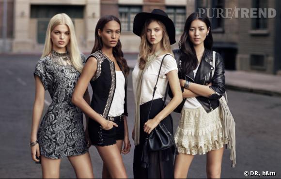 H&M puise son inspiration chez les mannequins.