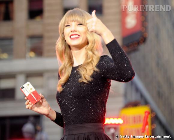 """Taylor Swift, guest star du dernier épisode de la saison 2 de """"New Girl""""."""