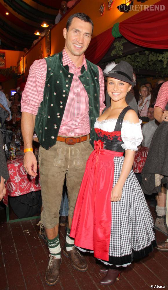 """Le flop """"déguisement"""" :  le style bavarois ne réussit pas à tout le monde."""