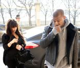 Kim Kardashian et Kanye West a Paris : week-end en amoureux pour les futurs parents
