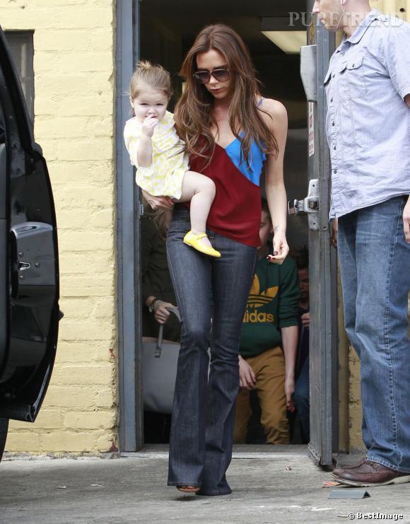 Victoria Beckham et Harper : un joli duo à Beverly Hills.