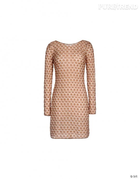 Nos must have à shopper sur le nouveau e-shop de Missoni :    Mini robe, 760 €