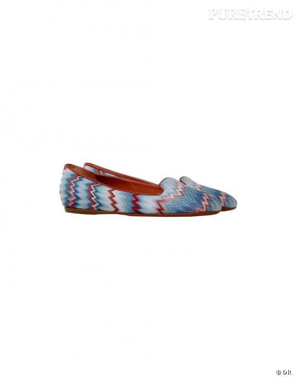 Nos must have à shopper sur le nouveau e-shop de Missoni :    Slippers, 398 €